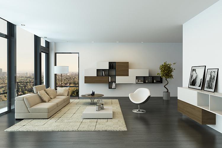 Contemporary-living-room-loft-interior